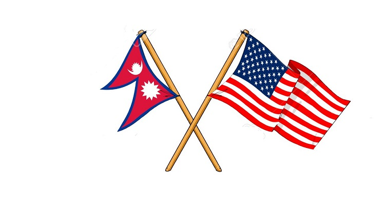 14738209-cartoon-like-drawings-of-flags-showing-friendship-between-Nepal-and-USA-Stock-Photo