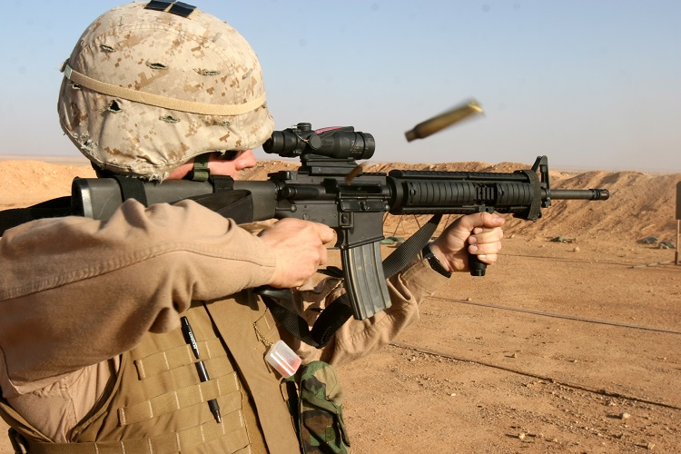 US_Marine_M16A4_Rifle_ACOG