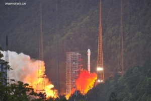 China launches 1st high-throughput communications satellite
