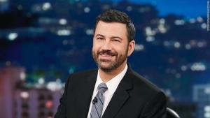 Back on TV, Kimmel zings critics of his health care plea