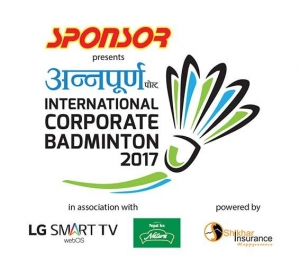 Annapurna Post International Corporate Badminton 2017 to be held