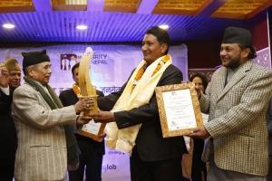 Dor Bikram Shrees wins Integrity Idol Nepal 2016
