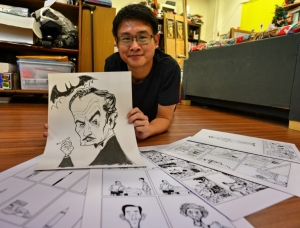 Award-winning Singapore cartoonist challenges history