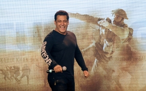 Bollywood star Khan's latest Eid release hits screens