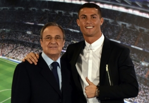 No offer received for Ronaldo, says Real Madrid boss