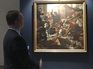 Uffizi Gallery shows treasures saved from last year's quakes