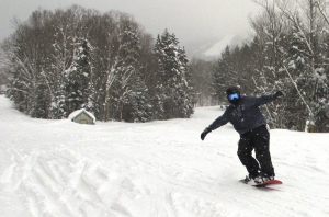 Northern New England gets buried in snow, and skiers love it