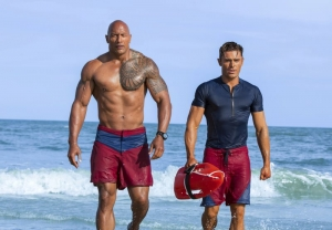 Review: Even The Rock's biceps can't lift up 'Baywatch'