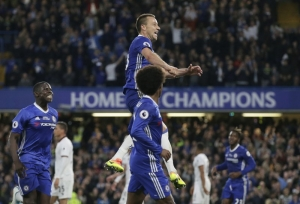 Terry makes scoring return to lineup for champion Chelsea