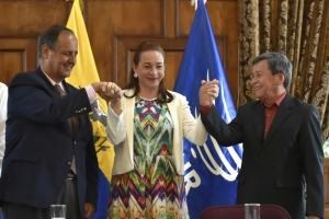 Colombia government, rebels hail pope-backed ceasefire