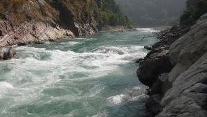 Is Nepal the second richest country in water resources?