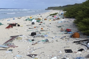 Tiny uninhabited Pacific isle has 38 million pieces of trash