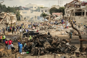 The deadliest attacks in Somalia since 2010