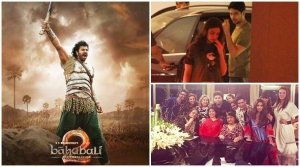 Post Baahubali 2 success, Karan Johar is on a celebration spree. See photos