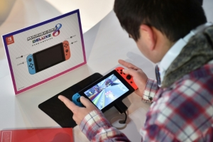 Nintendo eyes sale of 10 mn Switch consoles in year to March