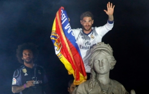 Thousands flock to Madrid as Real celebrate La Liga title