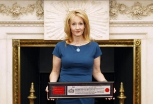 British author Rowling says Trump has a right to be bigoted