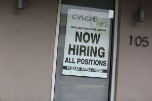 US unemployment falls to 10-year low in April