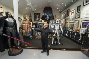 Owner of largest Star Wars memorabilia collection robbed