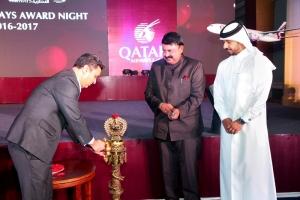 Qatar Airways celebrates agents award night 2016 – 2017