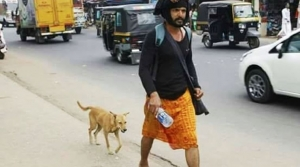 This story of a dog who walked 600 kms with a Sabarimala pilgrim is heart-touching