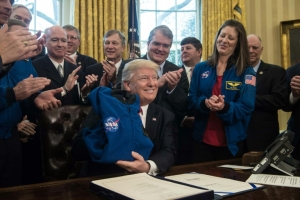 Trump, NASA and a rare consensus: mission to Mars