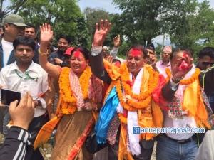 UML's GC registers mayoral win in Pokhara Lekhnath Metropolis