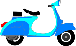 Online service to register application for driving license of two-wheeler and scooter