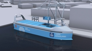 Norway to build first self-sailing electric cargo ship