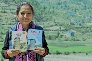 Jumla: A Nurse's Story - English Edition of Madan Puraskar winner Khalangama Hamala released