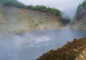 Natural hot water springs found in 14 locations in Myagdi